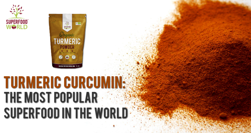 Turmeric Curcumin: The Most Popular Superfood in the World