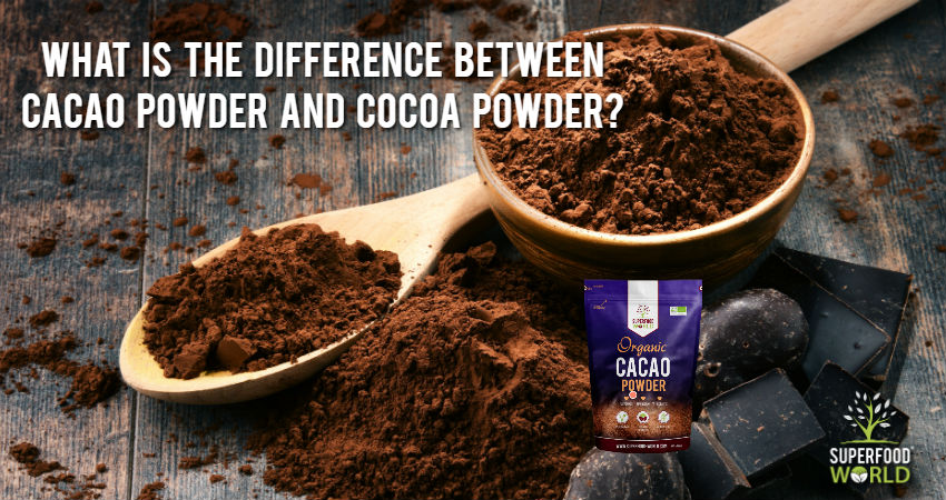 What's the Difference Between Cacao Powder and Cocoa Powder?