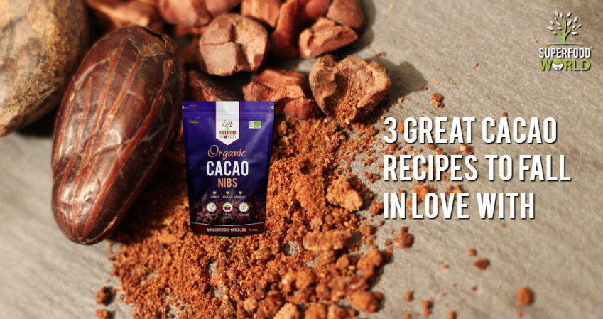 3 Great Cacao Recipes to Fall in Love with