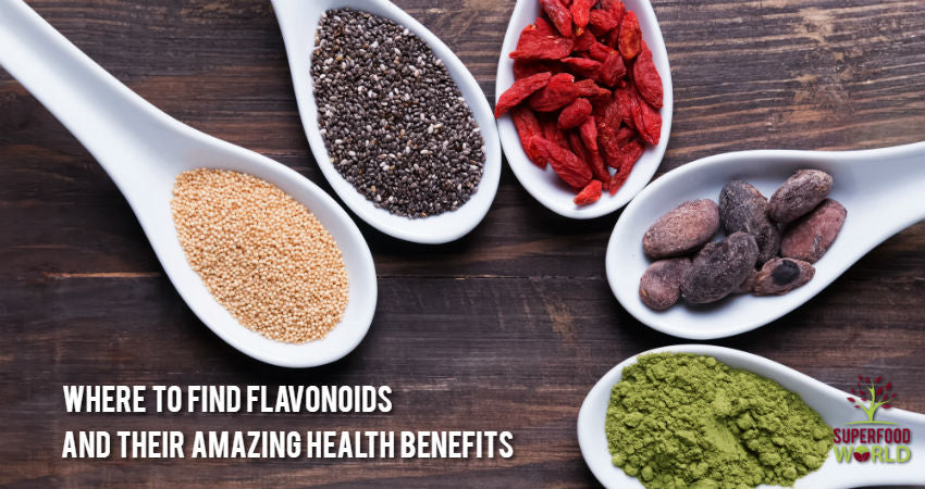Where to Find Flavonoids & Their Amazing Health Benefits