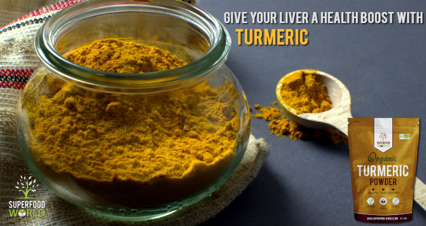 Give Your Liver a Health Boost with Superfood Turmeric