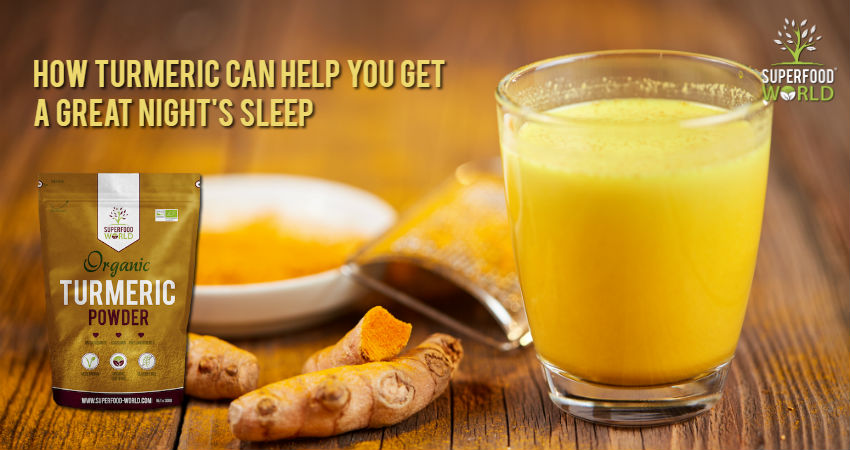 How Turmeric Can Help You Get a Great Night's Sleep