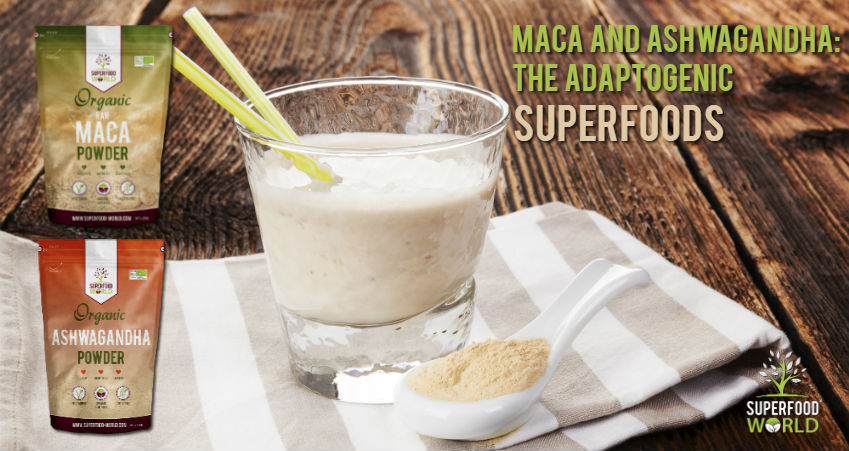 Maca and Ashwagandha: The Adaptogenic Superfoods