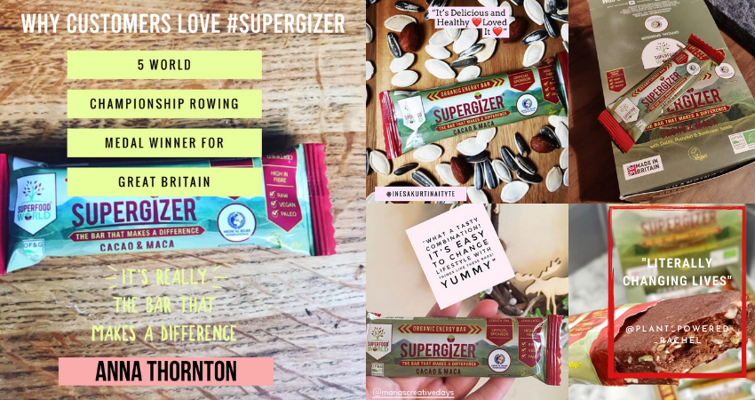 Supergizer - The Ideal Energy Bar For You