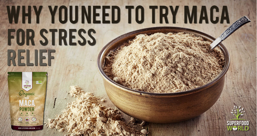 Why You Need to Try Maca for Stress Relief