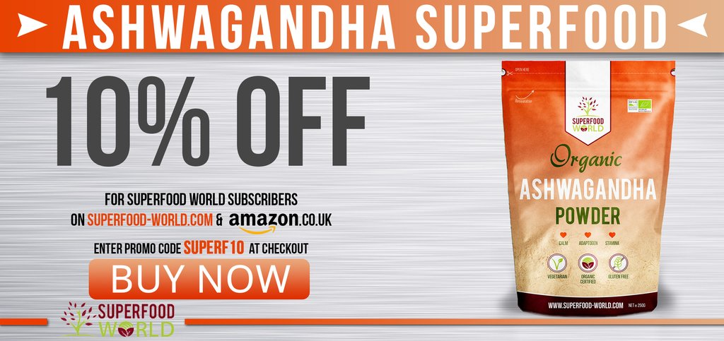 Buy Organic Superfood Ashwagandha