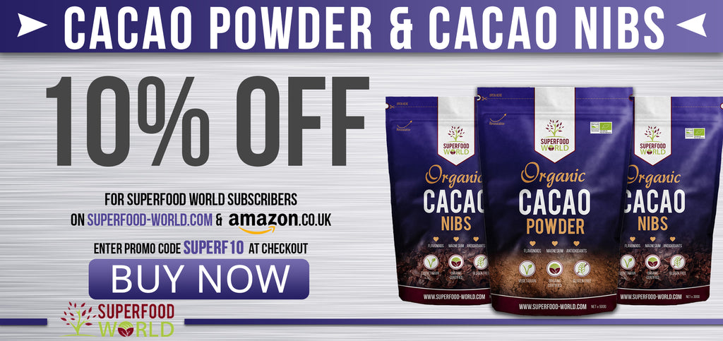 Superfood World Cacao Powder Nibs