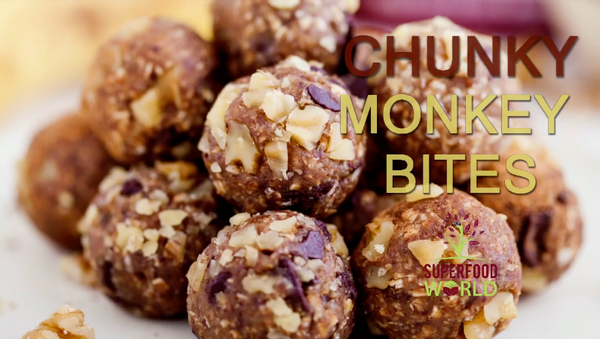 Chunky Monkey Bites Recipe - Superfood World