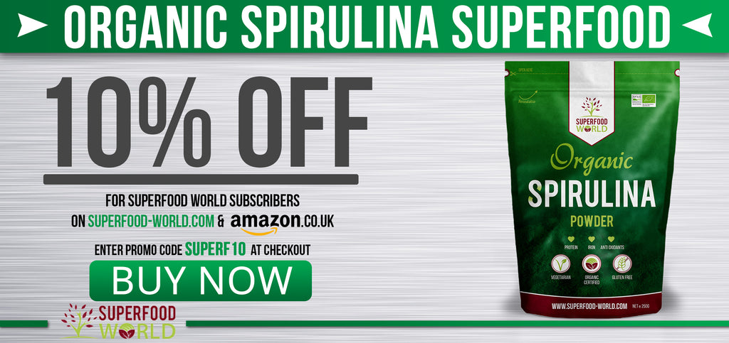 Buy Organic Spirulina Superfood World