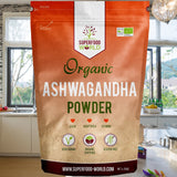 Superfood World Organic Ashwagandha Powder