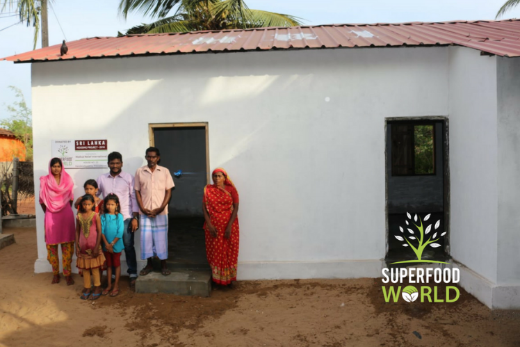 Superfood World House - 25% Donation Pledge Charity - MRI