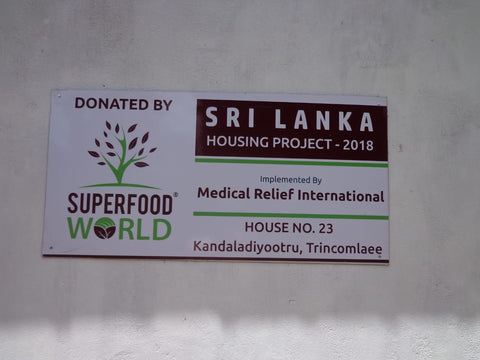 Superfood World House Plaque - Superfoods
