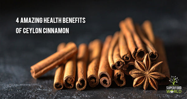 health benefits of ceylon cinnamon