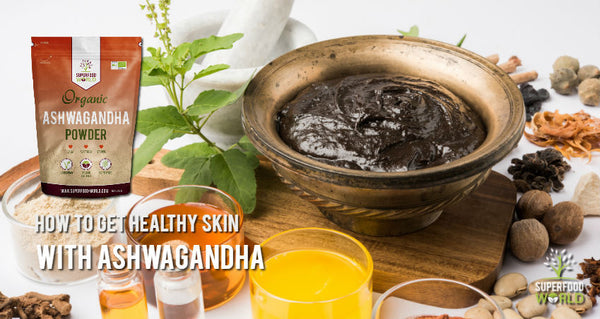 health skin with ashwagandha