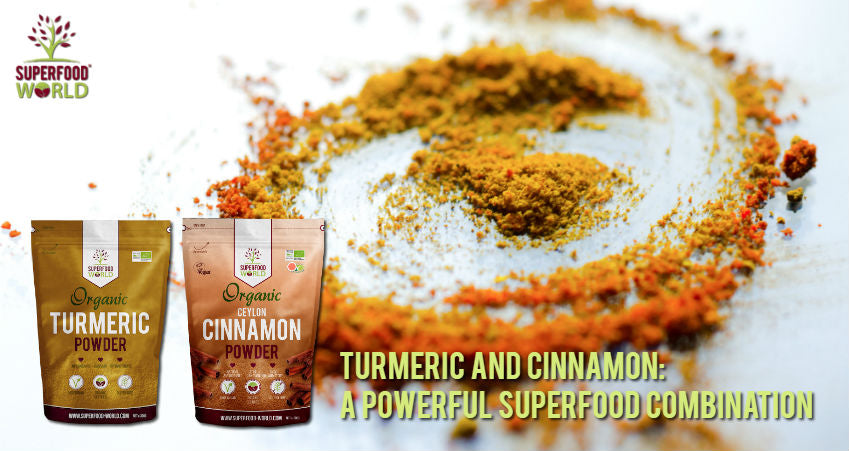 Turmeric and Cinnamon A Powerful Superfood Combination - Superfood World
