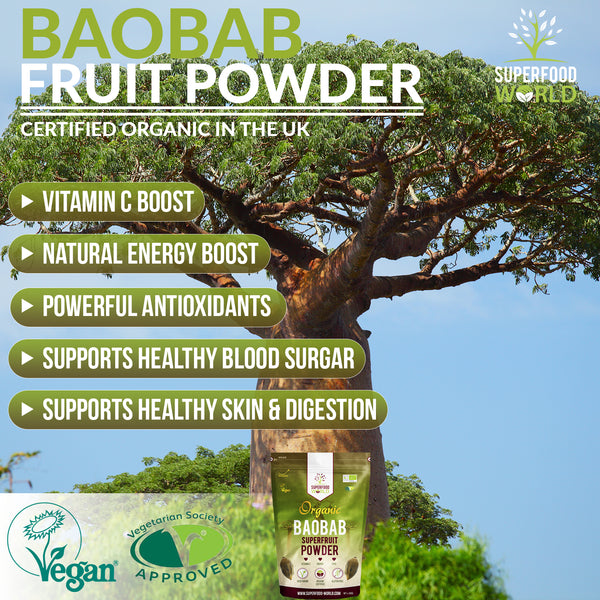 Organic Baobab Superfruit Powder