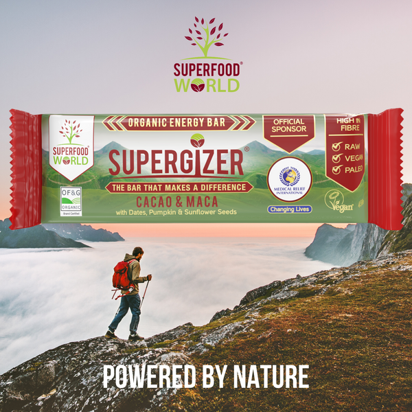 SUPERGIZER - Organic Vegan Energy Bar - 45g