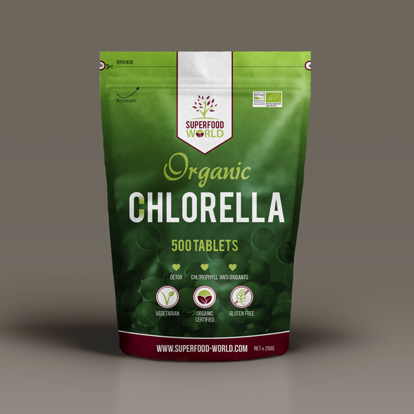 Organic Chlorella 500 Tablets