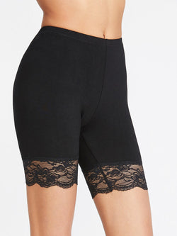 Lace Shorts Leggings