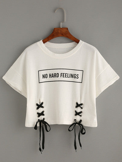 No Hard Feelings- Crop Top
