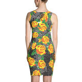 The yellow roses dress