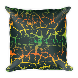 Multi-Colored Pillow