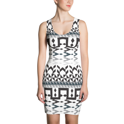 Arrows Diamond Shapes Dress