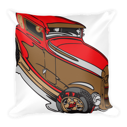 Classic vintage car Decor Pillow