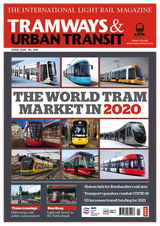 Tramway and Urban Transit 12-Month Subscription (UK)