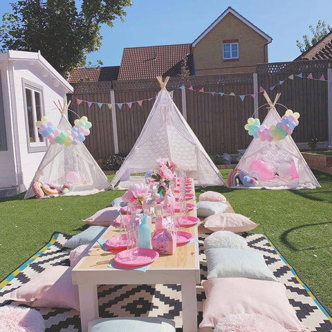 Tiny Land Lace teepee for kids