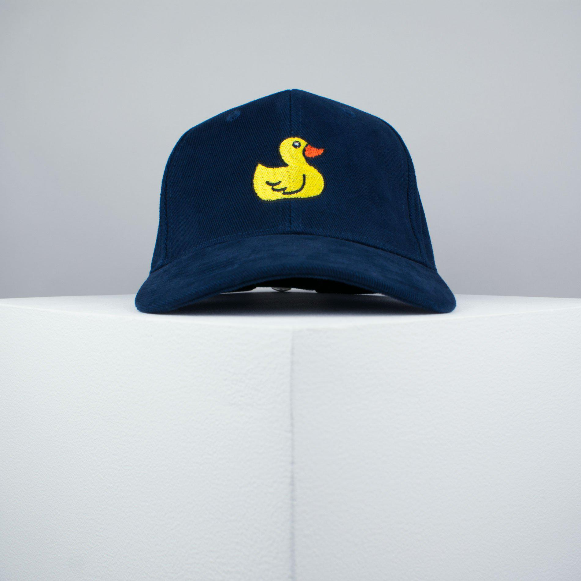 ... Rubber duck embroidered baseball cap navy   animal   patches   duck    embroidery   patch ... ec3aa411027