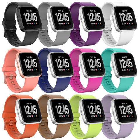 Fitbit Versa Straps by Ace Case - Bold Design, Over 12 Colours