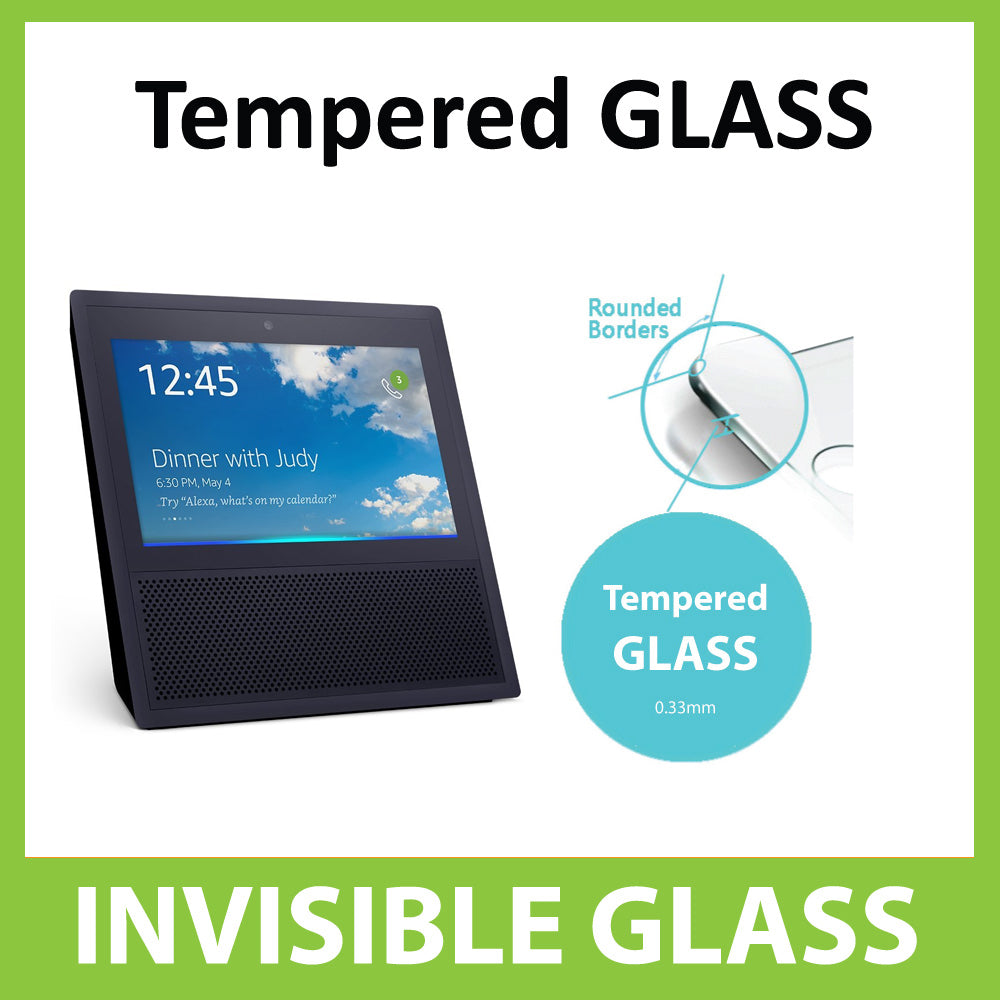 Amazon Echo show 7'' Tempered Glass Screen Protector by Ace Case