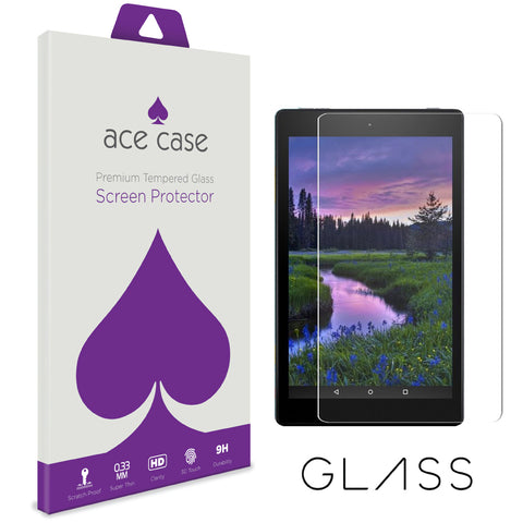 Amazon Fire HD 7 (2017) Tempered Glass Screen Protector by Ace Case