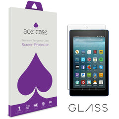 Amazon Fire HD 8 (2017) Tempered Glass Screen Protector by Ace Case