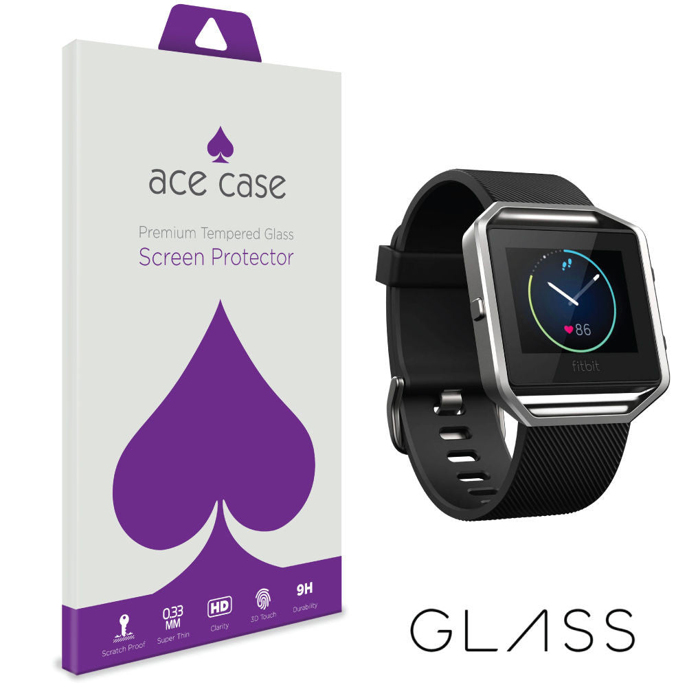 Fitbit Blaze Tempered Glass Screen Protector by Ace Case