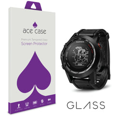 Garmin Fenix 2 Tempered Glass Screen Protector by Ace Case