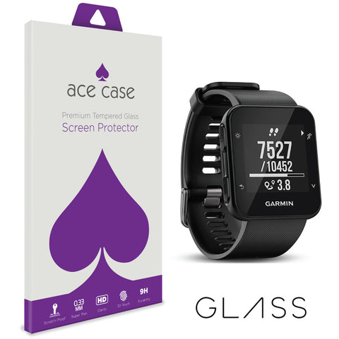 Garmin Forerunner 35 Tempered Glass Screen Protector by Ace Case