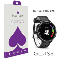 Garmin Forerunner 220/230 Tempered Glass Screen Protector by Ace Case
