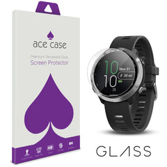 Garmin Forerunner 645 Tempered Glass Screen Protector by Ace Case