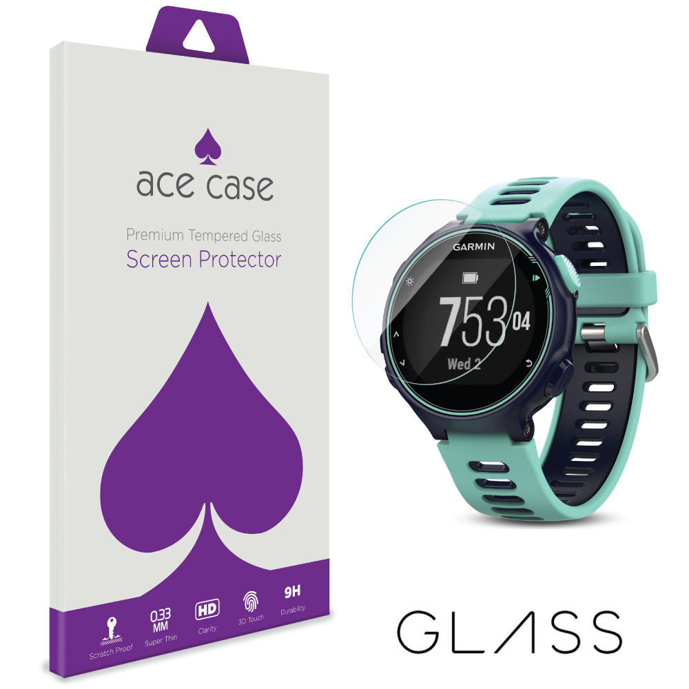 Garmin Forerunner 735 XT Tempered Glass Screen Protector by Ace Case