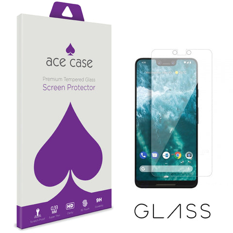Google Pixel 3 XL Tempered Glass Screen Protector by Ace Case