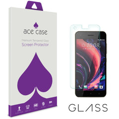 HTC Desire 10 Pro Tempered Glass Screen Protector by Ace Case