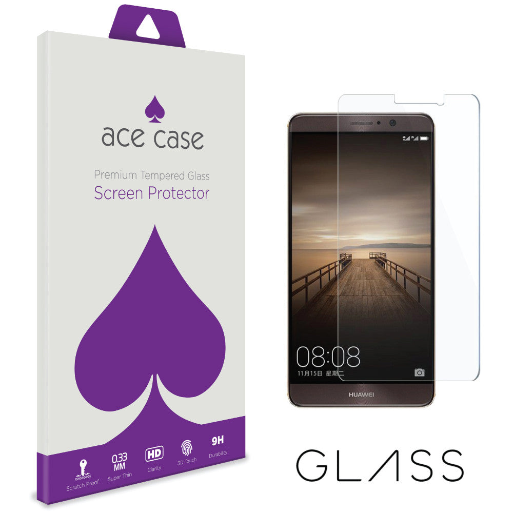 Huawei Mate 9 Tempered Glass Screen Protector by Ace Case