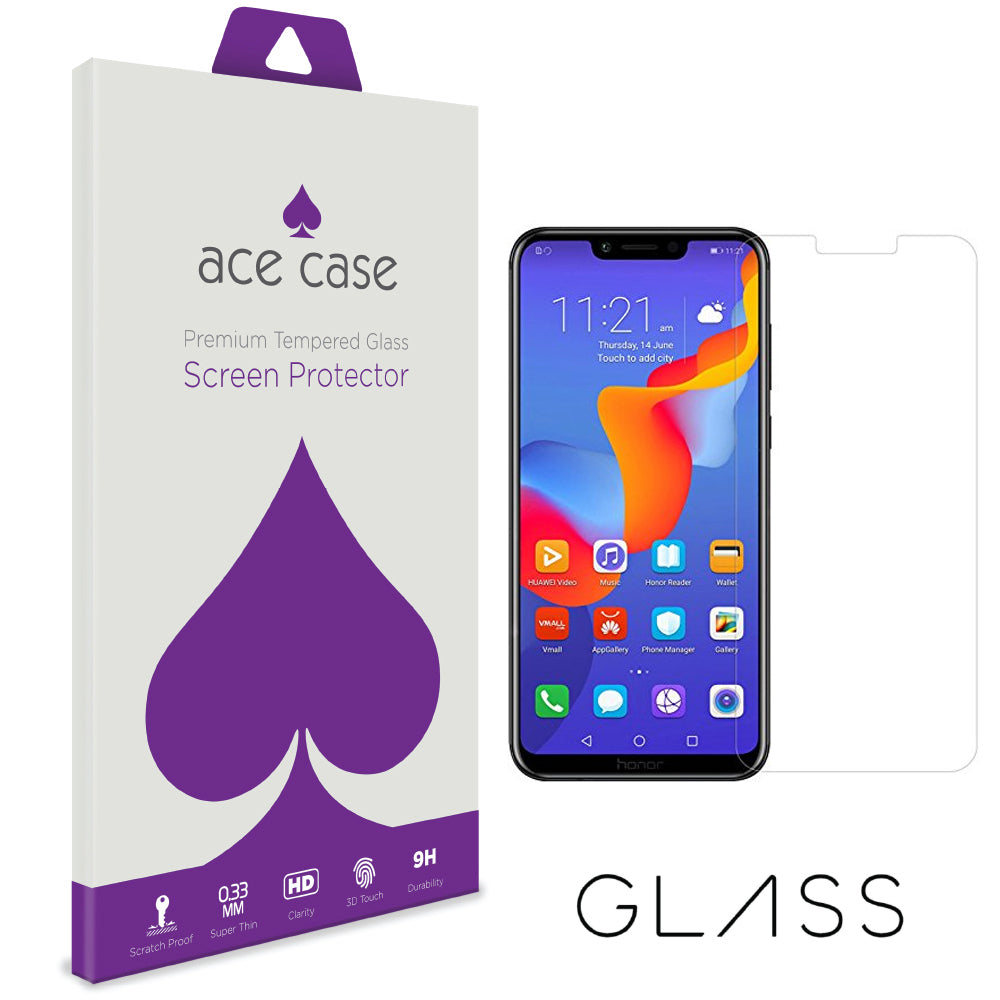 Huawei Honor Play Tempered Glass Screen Protector by Ace Case