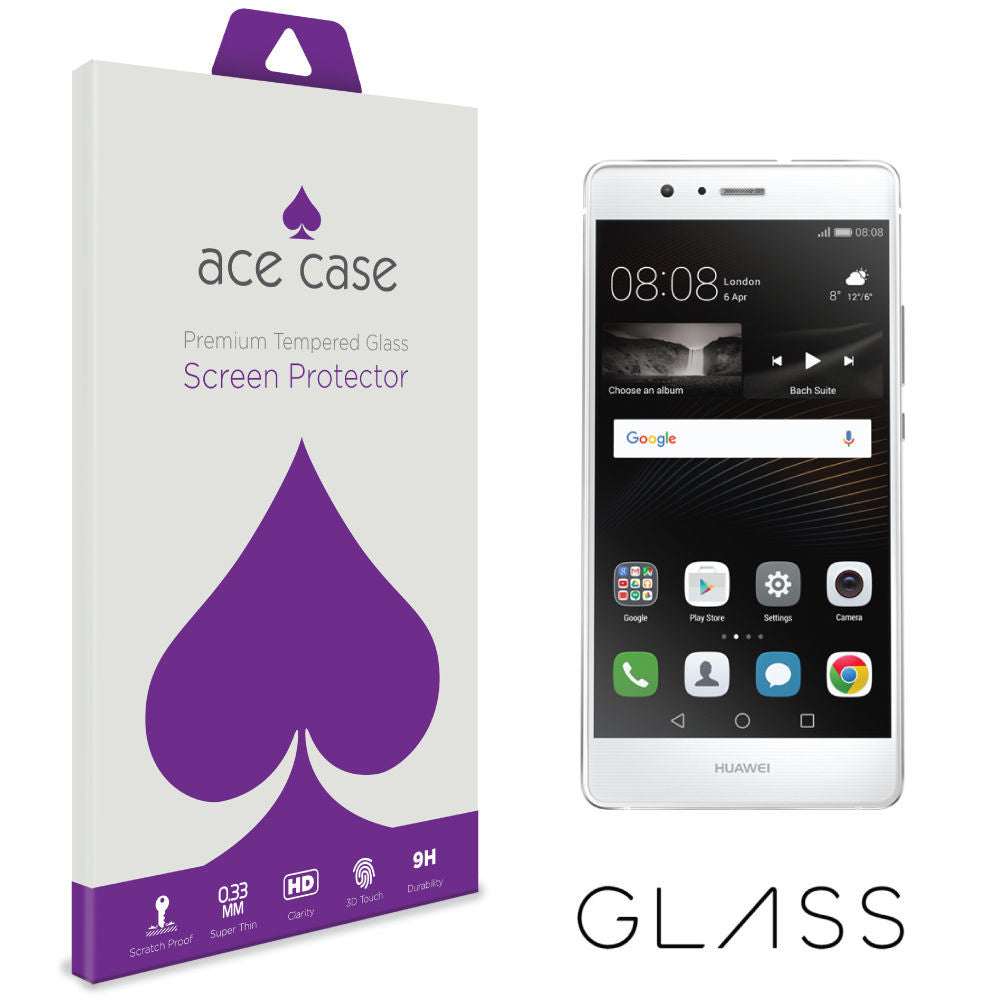 Huawei P9 LITE Tempered Glass Screen Protector by Ace Case