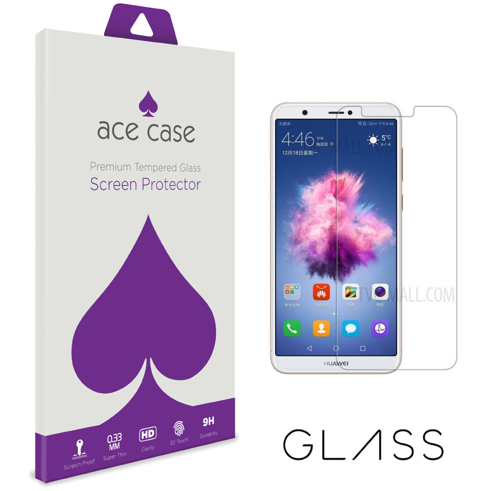 Huawei P Smart Tempered Glass Screen Protector by Ace Case