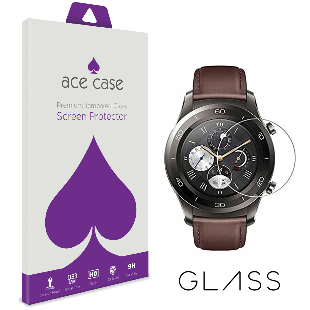 Huawei Watch 2 Pro Tempered Glass Screen Protector by Ace Case