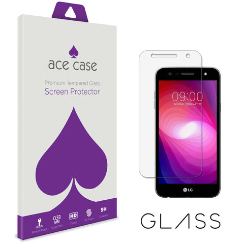 LG Fiesta Tempered Glass Screen Protector by Ace Case
