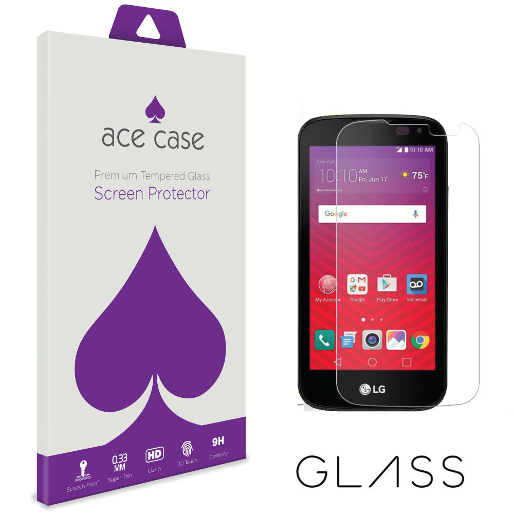 LG K3 / K100 Tempered Glass Screen Protector by Ace Case